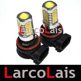 BEST QUAULITY White 2 x H8 7.5W LED Car Fog Light Ultra Bright Headlight Bulb Light Lamp 12V DC