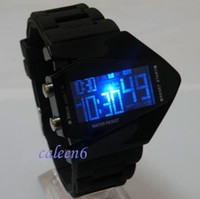 Wholesale Men Hot Sale New Design LED Wrist Plane Model Fashion Populor Top Brand watch pc LED1007
