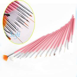 Wholesale New Acrylic Nail Art Design Painting Tool Pen Polish Brush Set Kit DIY Pro