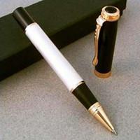 Wholesale JINHAO executive milk and golden twist roller ball pen