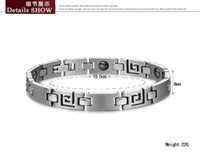 Wholesale Christmas gift brand new women s L stainless steel magnetic bracelets chain chains GS3108