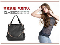 Free Drop shipping fashion PU leather handbag Stylish lady's...