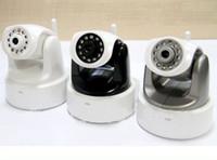 Nocturna por infrarrojos vison de la cámara ip cableado inalámbrico cámara IP WIFI H. 264 WIP604MW ID002A 6pcs