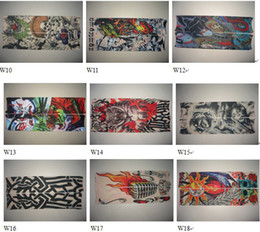Wholesale 100pcs Mixed Designs Tattoo Arm Sleeves Excellent gfdfd