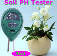 Wholesale in1 Plant Flowers Soil PH Tester Moisture Light Meter hydroponics Analyzer