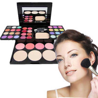 Wholesale Makeup Palette Powder Box color Fashion Eye Shadow Makeup Colr Blush color lip gloss