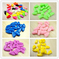 Wholesale 500PCS Soft Nail Caps For Cat Paw Pet Claws with FREE Super Adhesive Glue V3376