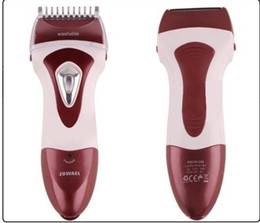 Wholesale Lady Shaver Epilator Electrical Lady Shaver water Shaver Facial Body Hair Removal
