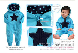 Wholesale Autumn Spring New Baby Clothing Baby s Rompers Star Boy s Rompers apple Girl s Romper Baby s Apparel