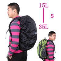 bag cover for cycling - Backpack Rain Cover Bag Water Resist Proof packsack knapsack cover L S for cycling H4995B