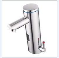 Side bathroom faucet brands - bathroom automatic faucet basin hot amp cold sensr tap solid brass brand new chrome finish