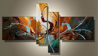 Wholesale Art Modern Abstract Oil Paintings Unframed Artwork Cool Wall Decoration High Quality Pop Painting