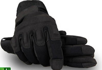 Wholesale 1pair Blackhawk Outdoor Tactical Glove US Soldier Full Finger Gloves size L