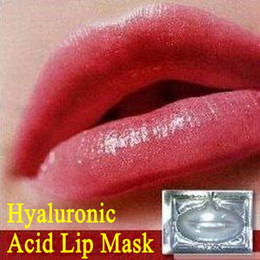 Wholesale 60pcs Collagen Crystal Hyaluronic Acid Lip Masks Membrane Moisture White Essence Skin Face Care