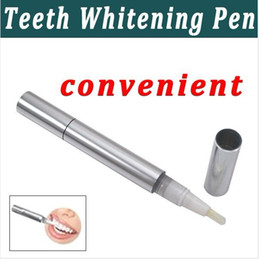 Wholesale Fast Dlivery Blank Teeth Whitening Pen Carbamide Peroxide Gel Loose Package Free Ship By EMS