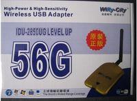 Cheap Wifly-city 56G 54Mbps 1000mw 6dBi USB Wireless Adapter Wifi Antenna 8187L Chipset 6pcs DHL free