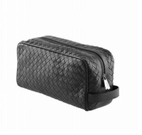 Wholesale 7799 Nero Intrecciato Vn Toiletry Case men bags designer bags