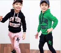Wholesale New GEGEBO children s clothing who specialize letters movement clothing Coat Trousers
