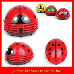 Wholesale Mini Ladybug Vacuum Cleaner Desktop Coffee Table Vacuum Cleaner Dust Collector For Home Office Car