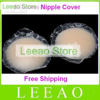 Cheap 300pcs lot (150pairs) # Invisible Bra Breast Nipple Cover Silicone Pad Skin Adhesive Reusable Bra