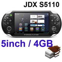 screen games - JXD S5110 MP3 MP4 MP5 Game Player Android OTG WIFI Ice Cream Screen Games Console
