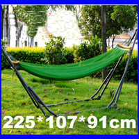Wholesale Newest Foldable Camping Hammock With Steel Stand Outdoor Camping Hammock Outdoor Supplies SP60A