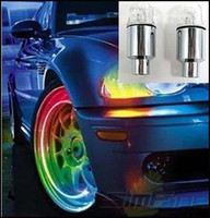 Wholesale Hot Wheels Valve Lamp Flashing LED Colorful Transform Light Car LED Wheel Bicycle Lights