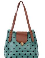 Wholesale New Korea Fashion Style Women s PU Leather Handbag Lady Tote Shoulder Bags HB014