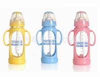 Wholesale feeder feeding bottle nursing bottle milk bottle nuk ML Glass Bottle anti bilge gas