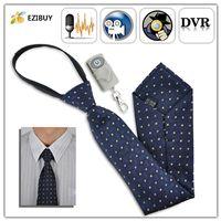 4G wireless spy hidden cameras - Stylish Polyester GB Wireless Spy Camera Tie Hidden Cam with Remote Control EB362