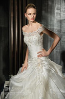 Wholesale 2012 Collection Essence Best selling A Line Wedding Dresses Wedding dress