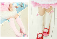 bamboo terry towelling - Children s terry socks towel socks white pink spring autumn winter stockings