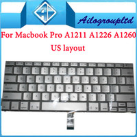 Wholesale 100 original amp brand new For quot inch A1150 A1211 A1226 A1260 keyboard US layout