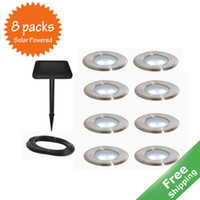 Wholesale Solar deck light lights per set solar powered More than hrs work time mters Free ship