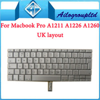 Wholesale 100 original amp brand new For quot inch A1150 A1211 A1226 A1260 keyboard UK layout