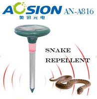 Wholesale Solar Snake amp Mole Repeller with LED Light