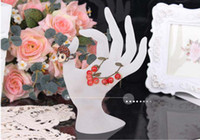 Wholesale Finger Fashion Jewelry display Ring and Bracelet Display jewelry models colors
