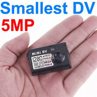 Wholesale DHL fast ship Good quality smallest mini Camera Spy HD mini dv Webcam function So cute hot selling