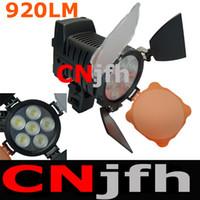 Wholesale LED LED Video Light mAh Battery Grip US Charger LED for Camera DV Camcorder Lighting