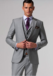 Wholesale 2012 Hot Sale New Arrivals Piece Jacket Pents Vest Groom Suit Business suit Free Tie piece V988