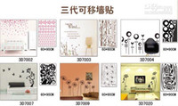 Wholesale 60 cm Mix Order D Removable Wall Stickers Decals Mural Art Wall Sticker Decal Kids Nursery Decor
