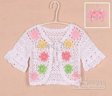 Crochet Pattern Baby Girl Cardigan : Pics Photos - You Ll Crochet This Pretty Girl S Baby ...