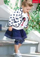 american primer - European and American style girls wave point coat primer shirt pleated skirt leggings girls s