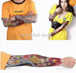 Wholesale 20pcs Styles Available Nylon Elastic Seamless Tattoo Sleeve Stretchy Arm Stocking