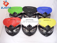 Wholesale Dirt bike Motorcycle Universal Vision Headlight motorcycle headlamp