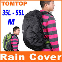 Wholesale 35 L M Outdoor Backpack Rain Cover Bag Water Resist waterProof packsack cover for camping H4996B