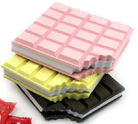 Wholesale Novel Gift CHOCOLATE Memo Pad Sticky Notebook Memo Pads Notepad