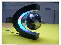Wholesale Freeshipping led electronic LED light wireless power magnetic levitation floating world map