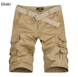 Wholesale New Match Army Camo Combat Men s Cargo Pants Trousers Shorts Green Khaki Size Size V3386