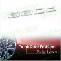 Wholesale 100pcs car emblem badge logo letter badge i i i i i i car letter emblem